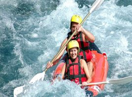 Alanya White Water Rafting Tour 1